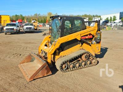 2015 CATERPILLAR 257DLRC 2 Spd High Flow Multi Terrain Loader