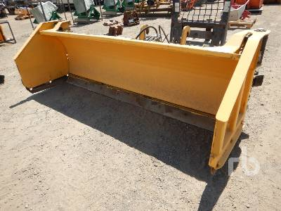 HLA SB3200W813 8 Ft Hydraulic Snow Pusher Loader Backhoe Attachment - Other
