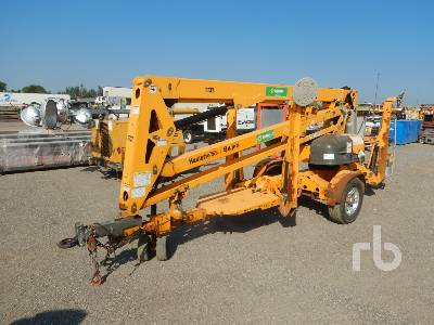 2014 HAULOTTE 4527A Electric Tow Behind Articulated Boom Lift