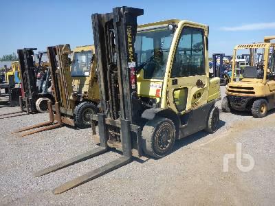 2008 HYSTER H80FT 6200 Lb Forklift