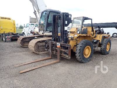 LOAD LIFTER 4408-12D 12000 Lb 4x4 Rough Terrain Forklift