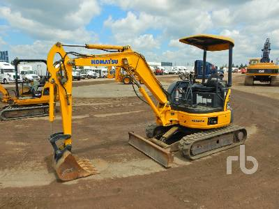 2007 KOMATSU PC27MR-2 Mini Excavator (1 - 4.9 Tons)