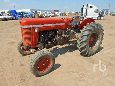 MASSEY FERGUSON MF85 2WD Antique Tractor