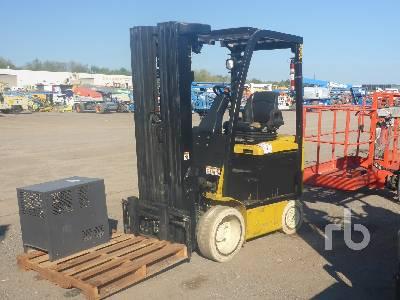 2012 YALE ERC050 4000 Lb Electric Forklift
