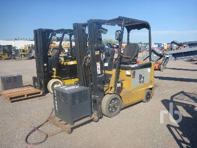 2011 CATERPILLAR EX5000 Electric Forklift