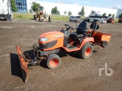 2013 KUBOTA BX2370 4WD Utility Tractor