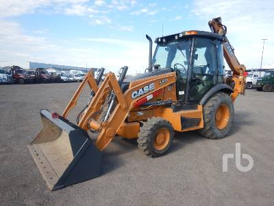 2015 CASE 580 4x4 Loader Backhoe