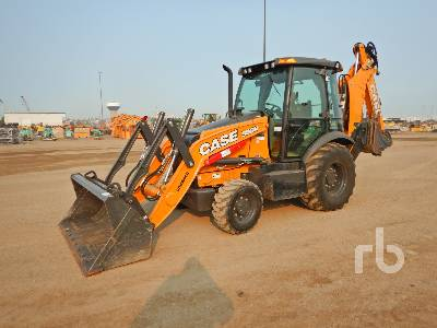 2018 CASE 580N 4x4 Loader Backhoe