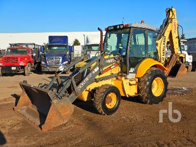 2010 NEW HOLLAND B95 4x4 Loader Backhoe