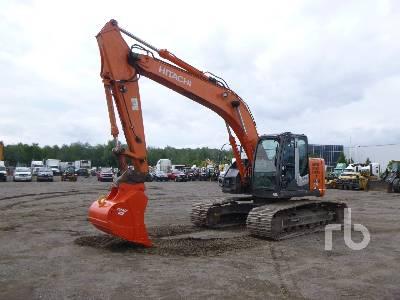 2011 HITACHI ZX225USLC-3 Hydraulic Excavator