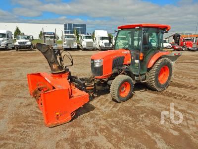 2016 KUBOTA L5460 MFWD Utility Tractor