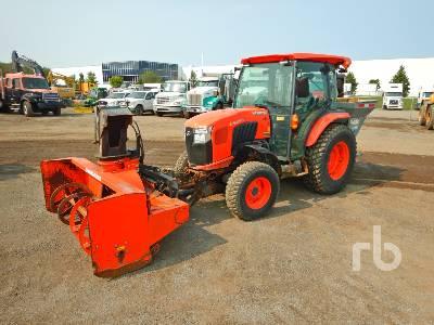 2017 KUBOTA L5460 MFWD Utility Tractor