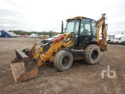 2013 CATERPILLAR 420FIT 4x4 Loader Backhoe