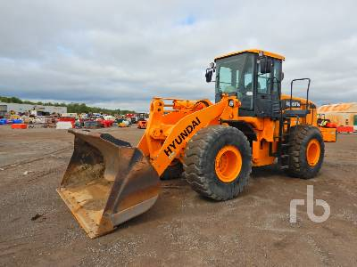 2009 HYUNDAI HL760-7A Wheel Loader