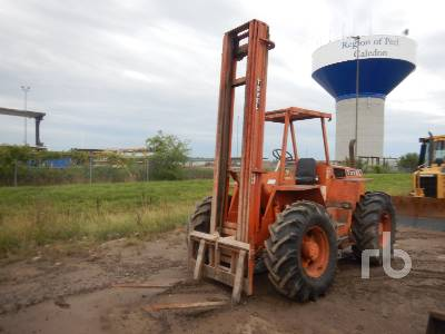 1986 TOVEL 64428 6000 Lb 4x4x4 Rough Terrain Forklift