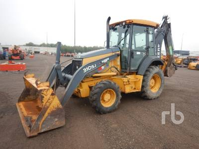2012 JOHN DEERE 310SJ 4x4 Loader Backhoe