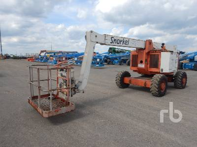 2006 SNORKEL AB60JF0 4x4 Articulated Boom Lift