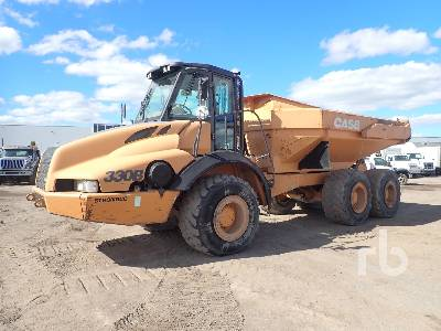2008 CASE ADT330B 6x6 Articulated Dump Truck