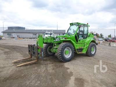 2016 MERLO P50.18HM 11000 Lb 4x4x4 Telescopic Forklift