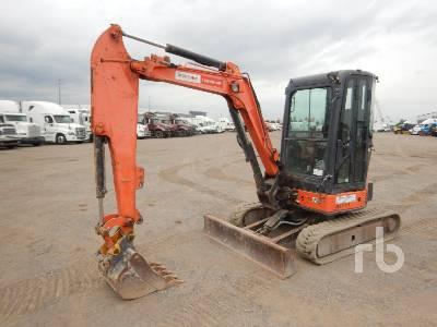 2012 HITACHI ZX35U-3 Mini Excavator (1 - 4.9 Tons)