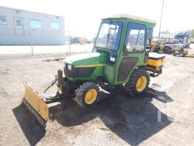 JOHN DEERE 4115 4x4 Utility Tractor
