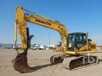 2016 KOMATSU PC170LC-10 Hydraulic Excavator