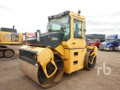 2007 BOMAG BW174AD Tandem Vibratory Roller