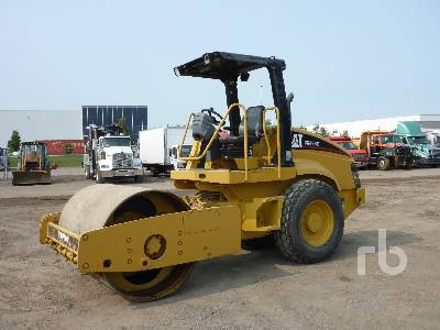 2007 CATERPILLAR CS433E Vibratory Roller