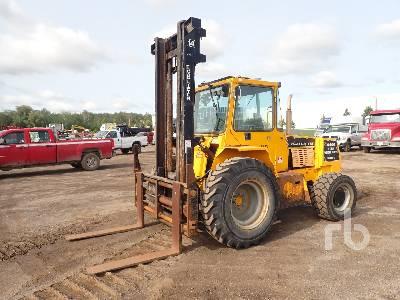 2001 LOADLIFTER 2414-10C 10000 Lb 4x4 Rough Terrain Forklift