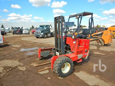 2011 MOFFETT M8 50.3 5000 Lb Truck Mounted Forklift