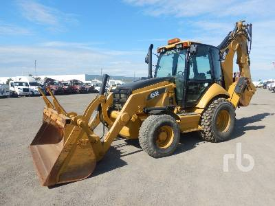 2008 CATERPILLAR 450E 4x4 Loader Backhoe