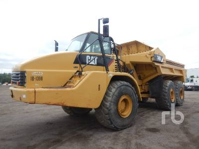 2007 CATERPILLAR 740 Ejector 6x6 Articulated Dump Truck