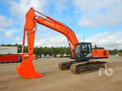 2018 HITACHI ZX350LC-6N Hydraulic Excavator