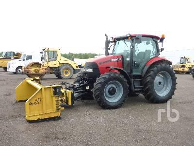 2009 CASE IH MAXXUM 110 MFWD Tractor