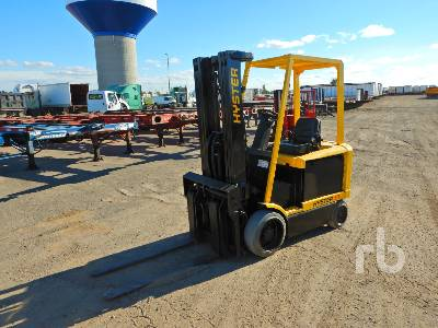 HYSTER E60Z-33 5300 Lb Electric Forklift