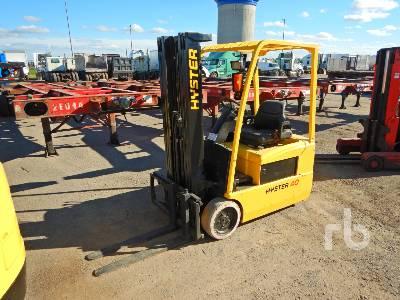2007 HYSTER J40ZT 3700 Lb Electric Forklift