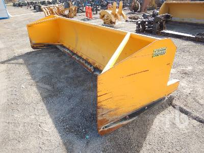 CQM 1400L 14 Ft Snow Pusher Wheel Loader Attachment - Other
