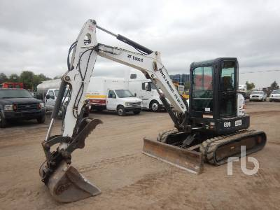 2015 BOBCAT E50 Mini Excavator (1 - 4.9 Tons)