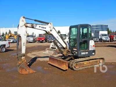 2012 BOBCAT E45M Mini Excavator (1 - 4.9 Tons)