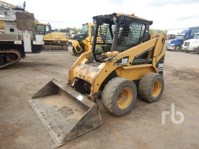 2005 CAT 248B High Flow Skid Steer Loader