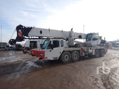 2008 LINK-BELT HTC8660 60 Ton T/A T/A Hydraulic Truck Crane