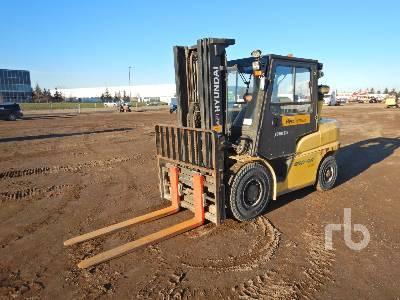 2016 HYUNDAI 45D9A 9130 Lb Forklift