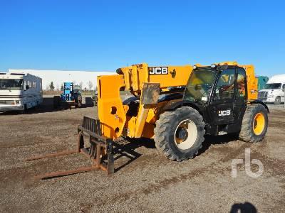 2014 JCB 510-56 10000 Lb 4x4x4 Telescopic Forklift