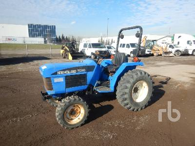2002 NEW HOLLAND TC30 MFWD Utility Tractor