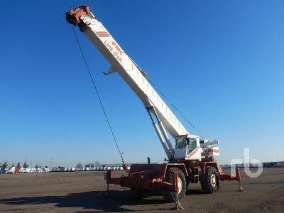 1984 LINK-BELT HSP 8040 40 Ton 4x4x4 Rough Terrain Crane