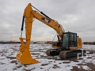 2014 CATERPILLAR 320E LRR Hydraulic Excavator