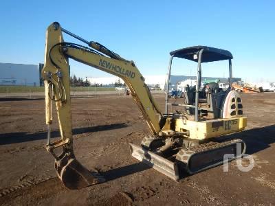 2001 NEW HOLLAND EC35 Mini Excavator (1 - 4.9 Tons)
