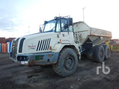 2011 TEREX TA300 6x6 Articulated Dump Truck