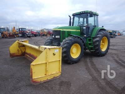 1996 JOHN DEERE 7700 MFWD MFWD Tractor