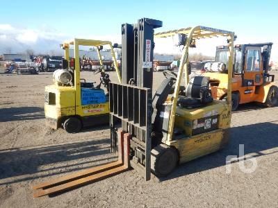 2007 HYSTER J40ZT 3750 Lb Electric Forklift